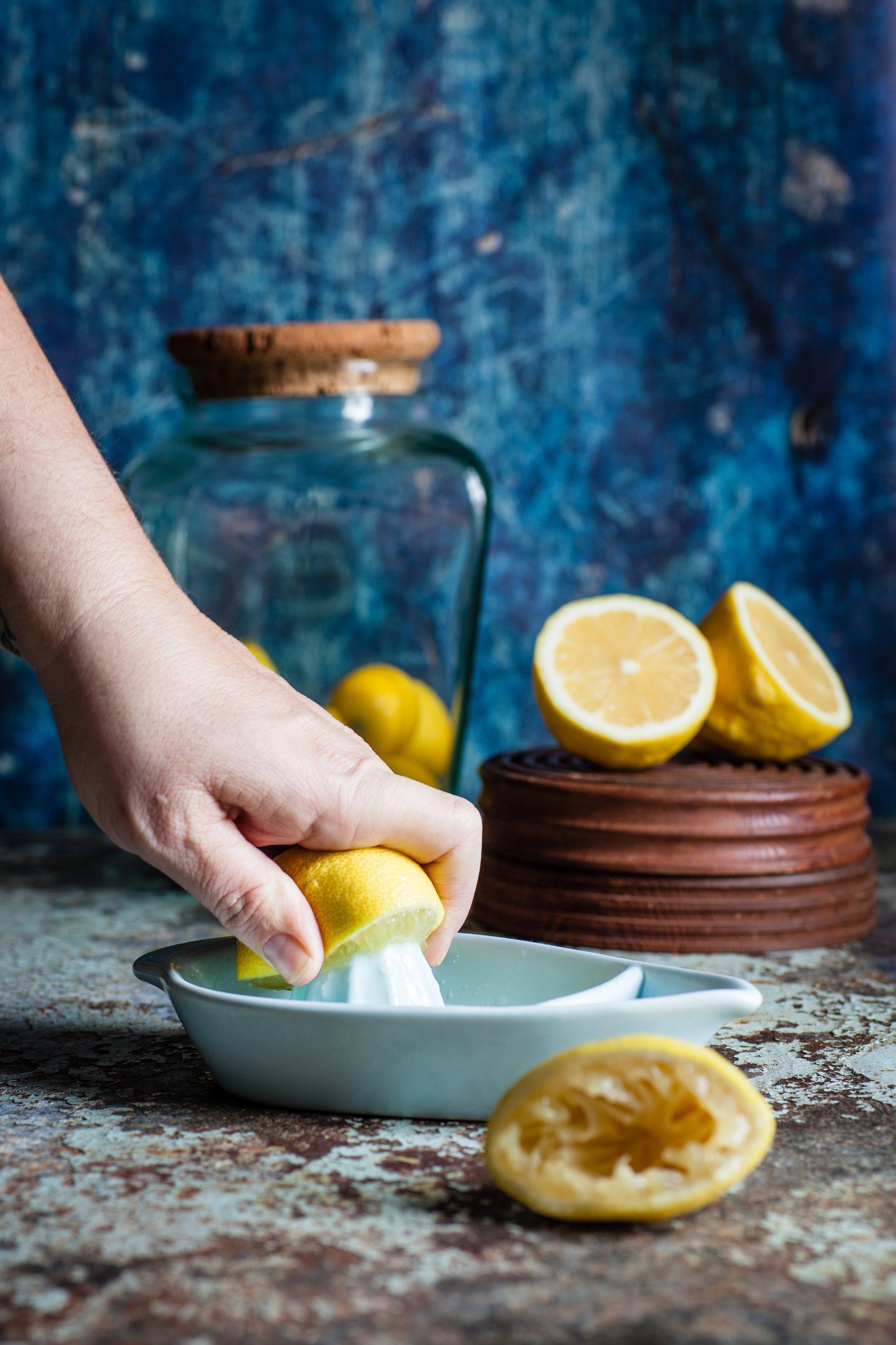 Pain au citron et graines de pavot