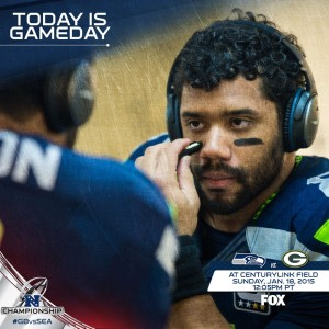 Gameday Russell Wilson