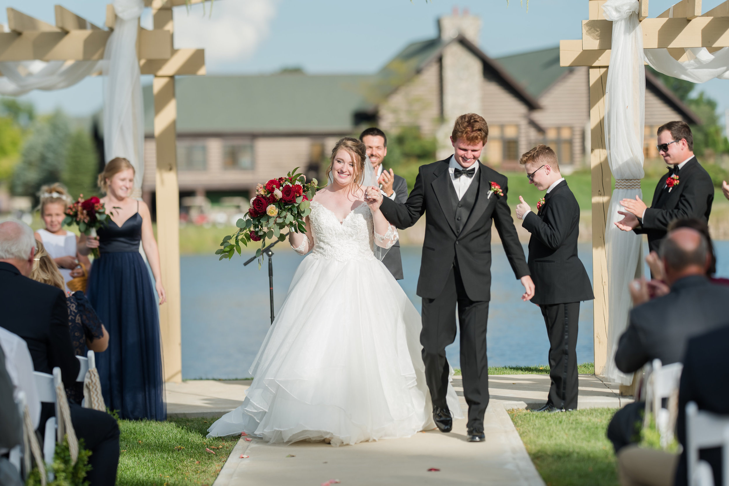 """Bride - """"Best day of my life! And I know it wouldn't have been as amazing without Allison Davis making sure everything went perfectly! Forever thankful for Royal Weddings and Events (Allison <3)""""— Isabel, 2018"""