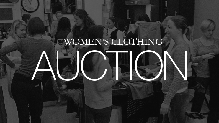 At the annual clothing action, we bring all those fabulous clothes, jewelry, and accessories that you're tired of...but that others might love (gently used and new).All proceeds will go to one of the ministries we support.   Visit FB to see our upcoming events.