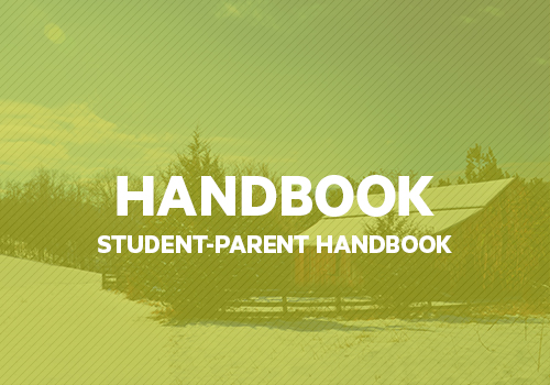 "READ     The MSA Student-Parent Handbook covers all aspects of being a student on the ""Hill."""