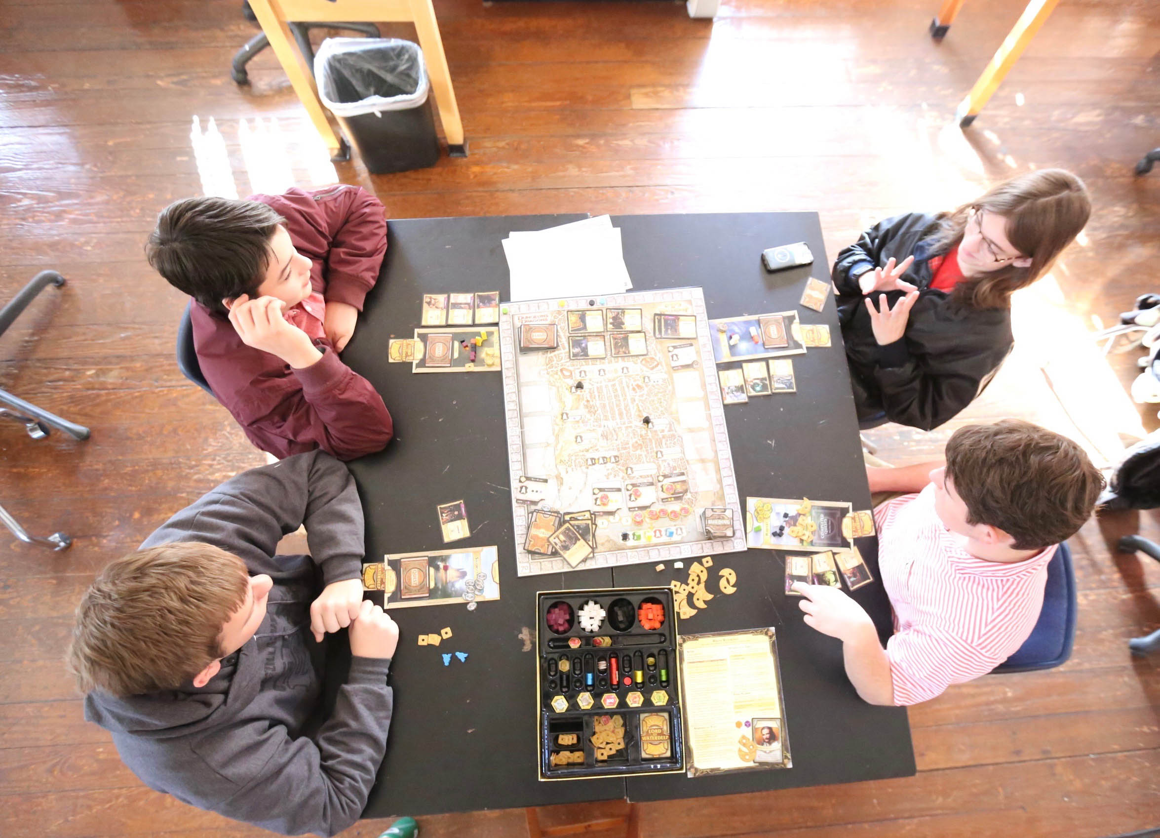BOARD GAMING<span>Learn strategy and teamwork in some of the world's most exciting board games.<span>