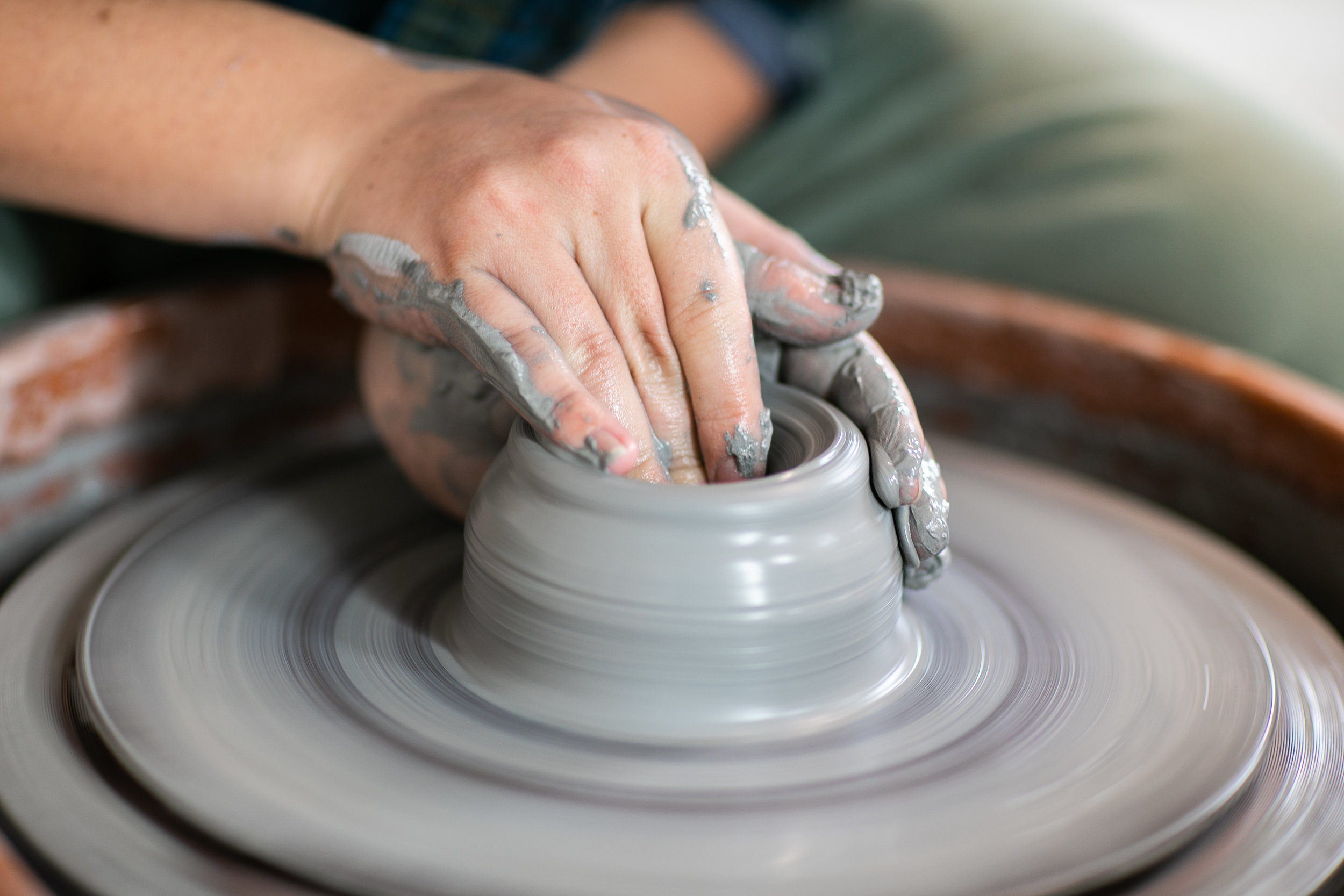 POTTERY<span>Turn and Sculpt.<span>