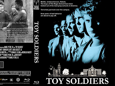 MOVIE SCREENING OF TOY SOLDIERS (1991) - CANTEEN | FRIDAY, MAY 31 | 8:30 PM - 12 AMGo back in time to the Regis School for Boys, an all-male boarding school overtaken by terrorists. While the authorities remain helpless, a group of rebellious and mischievous students decide to put their resourcefulness to good use. Popcorn machine and drinks on hand for the full movie experience! See pictures of the movie being filmed at Miller HERE.