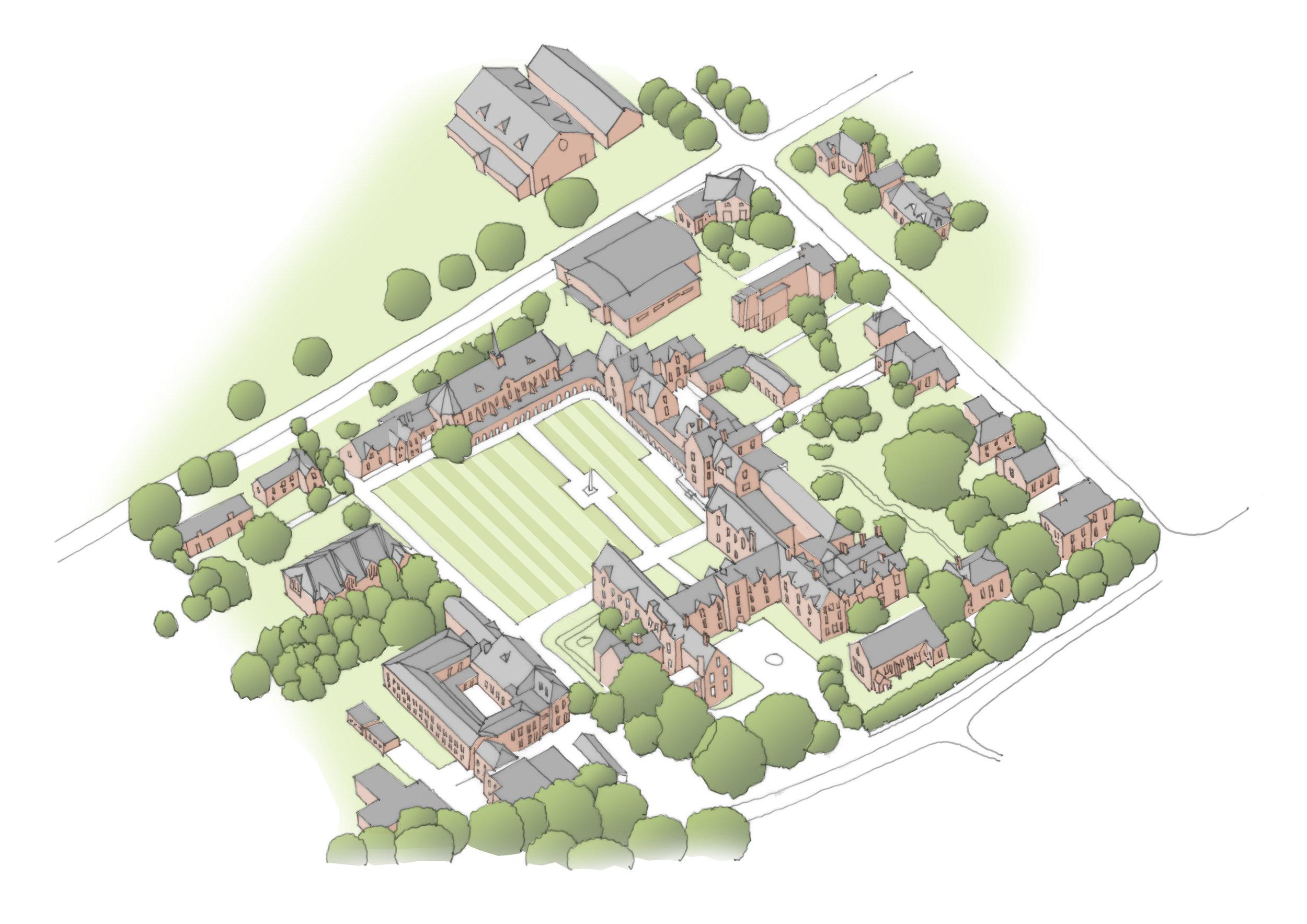St Johns School, Leatherhead | Masterplan