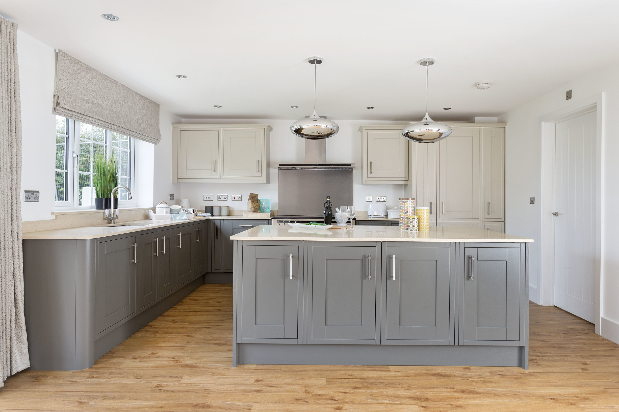 all fittings and fixtures are high quality, in keeping with the theme of the development