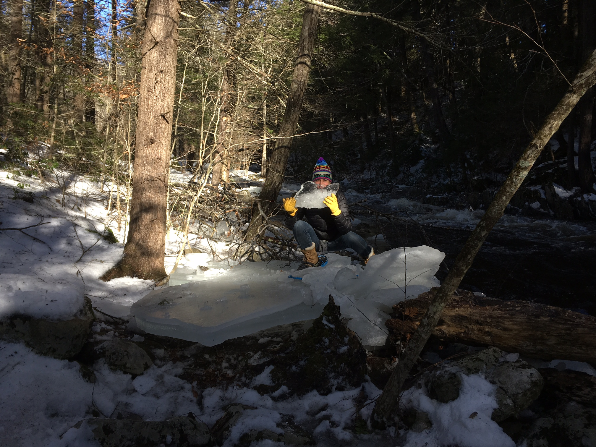 Robbie on the Dead Branch River
