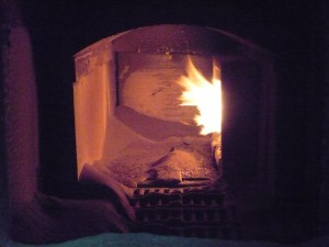 St Giles's Cripplegate biomass boiler