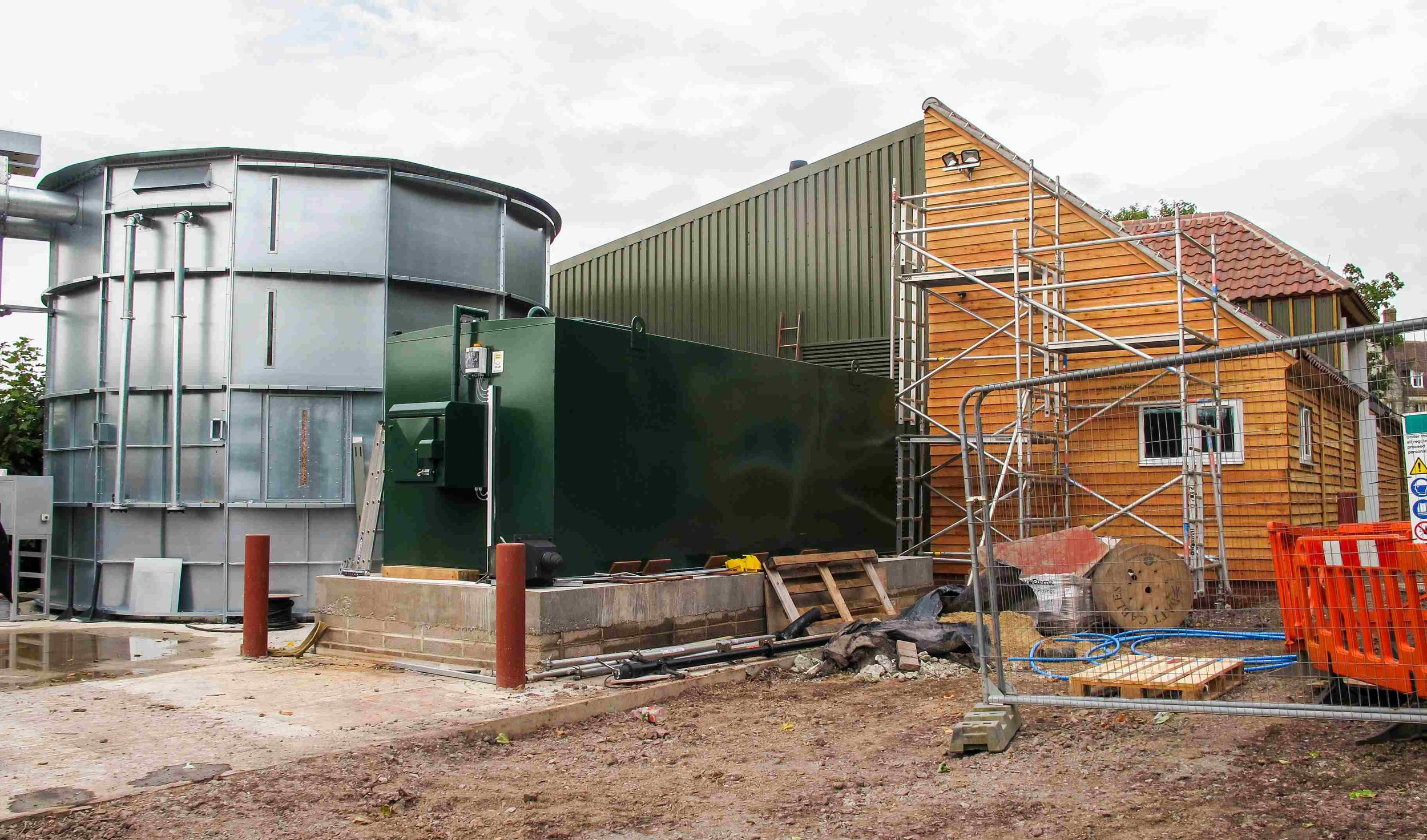 Clayesmore School Biomass Energy Centre