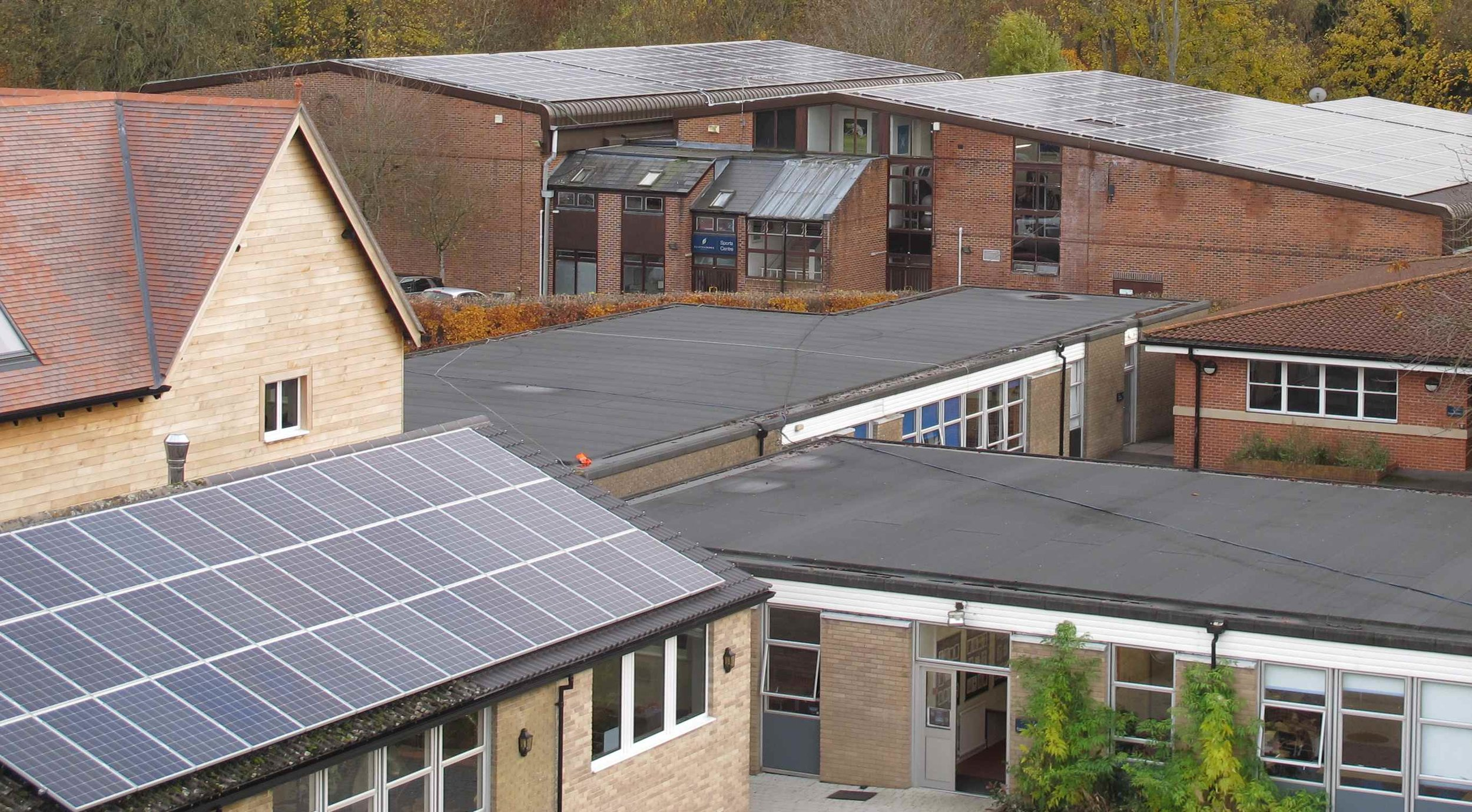 Clayesmore School Rooftop PV arrays