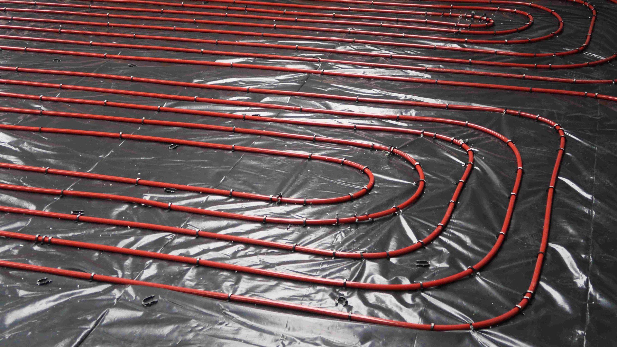 Stroud Brewery underfloor heating