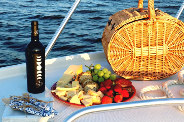 Our Sunset Cruise is BYOB, so pack a basket or cooler to your liking and let us do the rest.