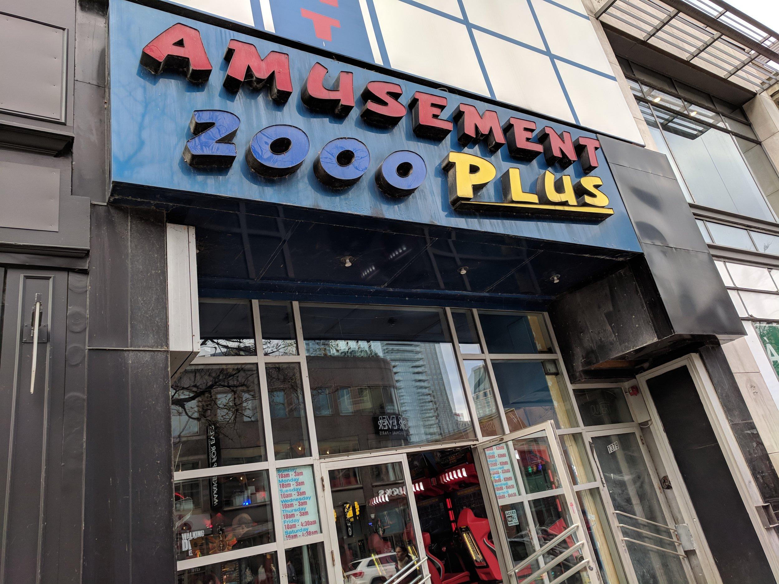Amusement 2000 Plus
