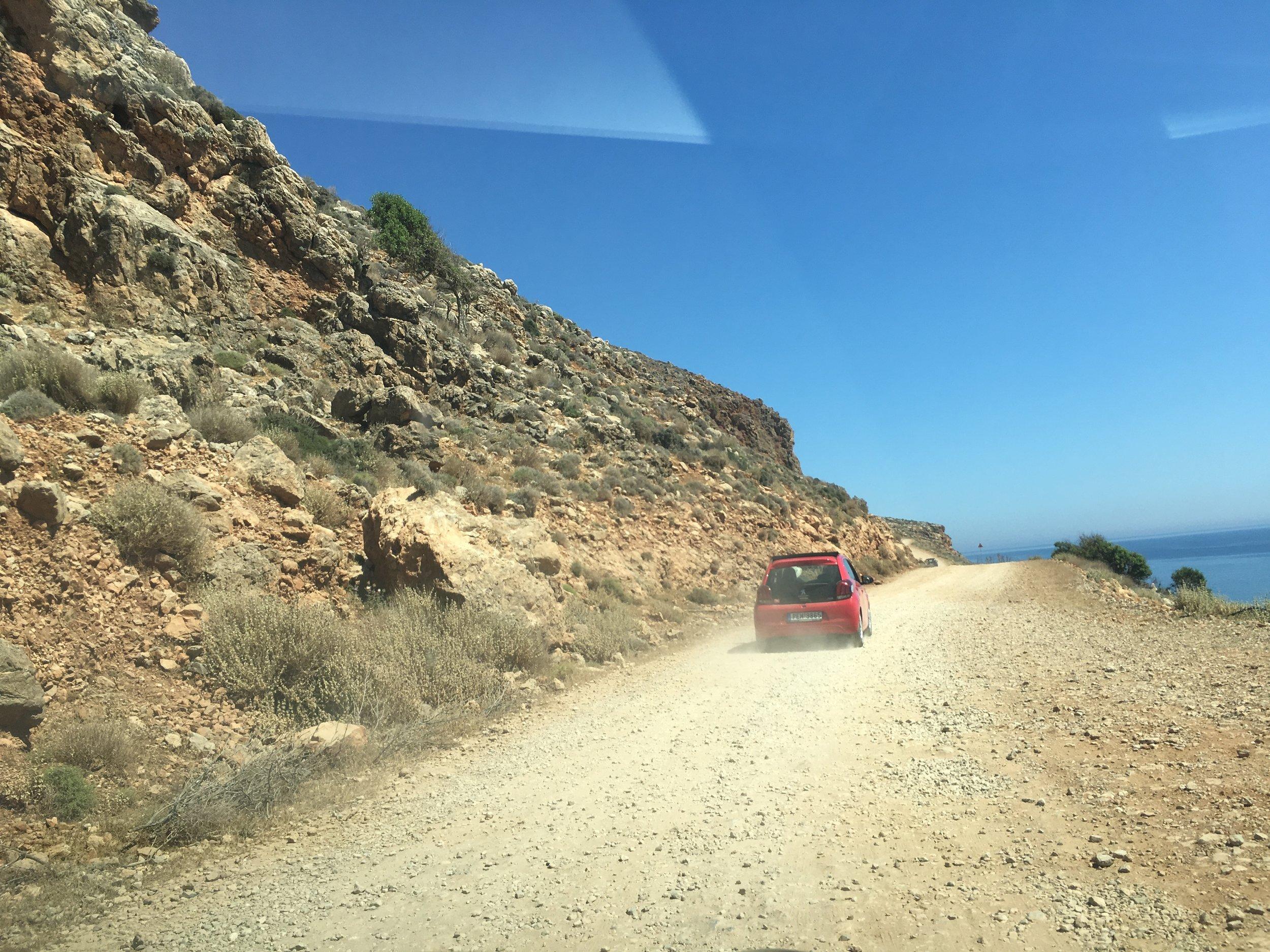 Dirt Road to Balos