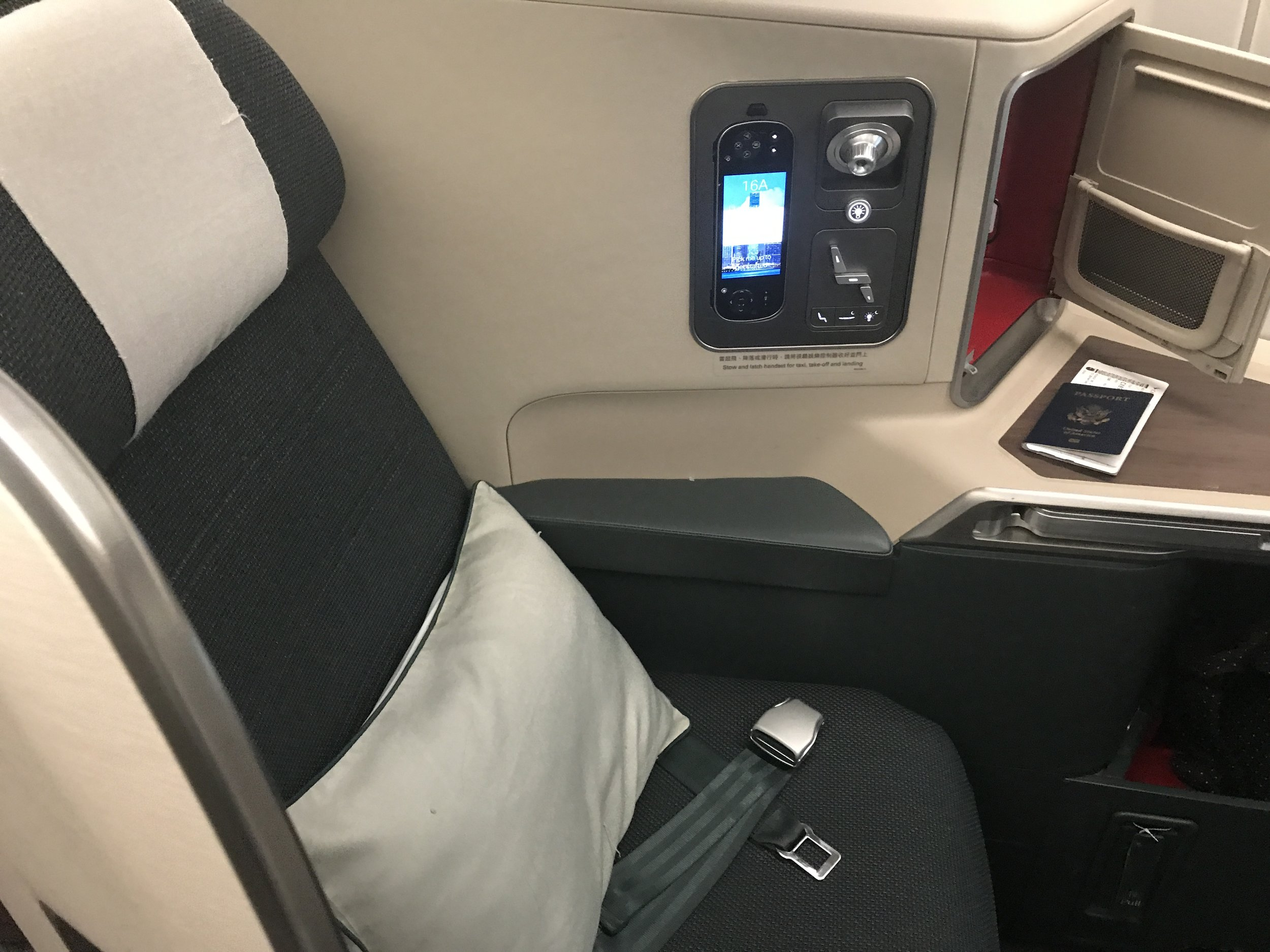 Cathay Business Seat