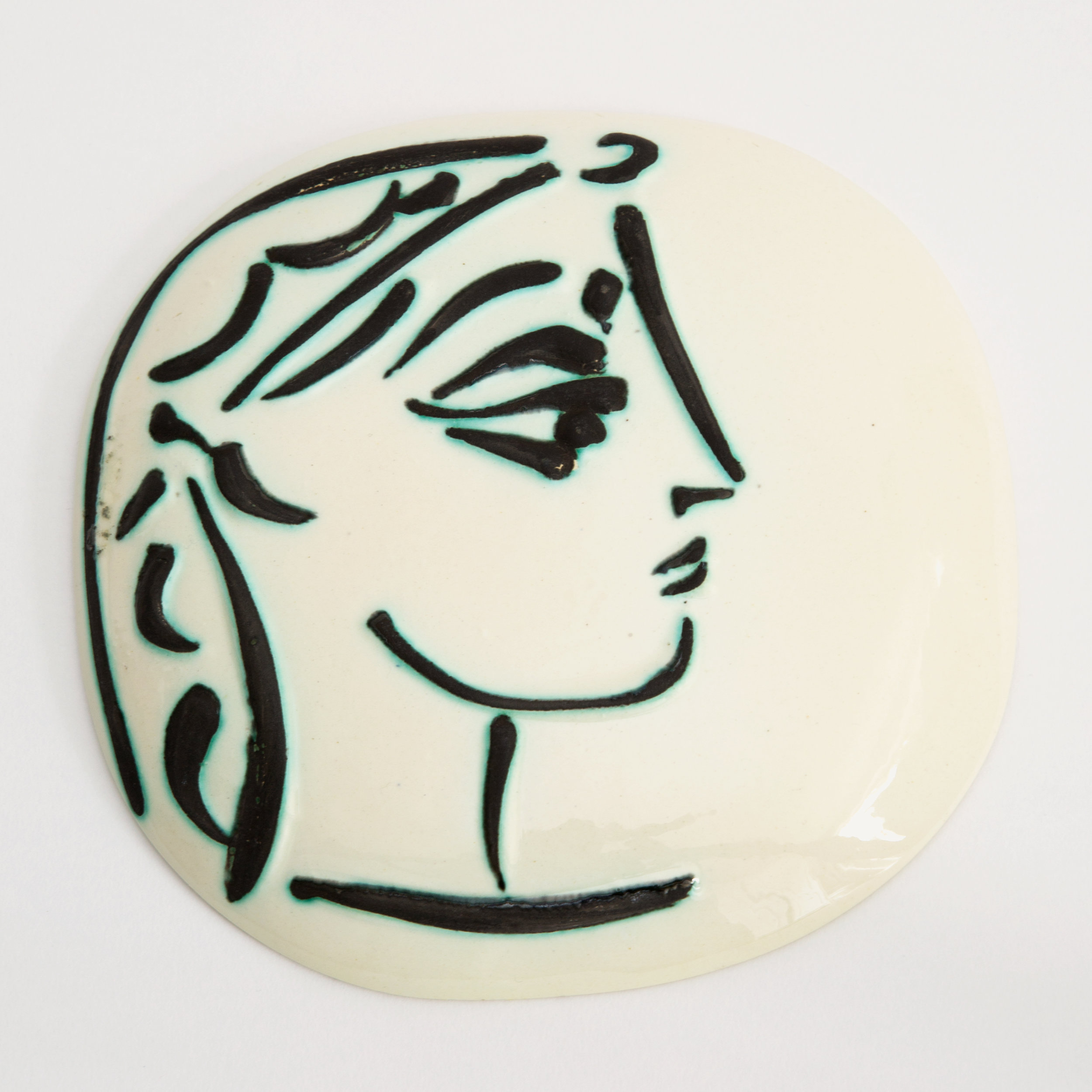The Picasso Medallion ('Jacqueline's Profile')