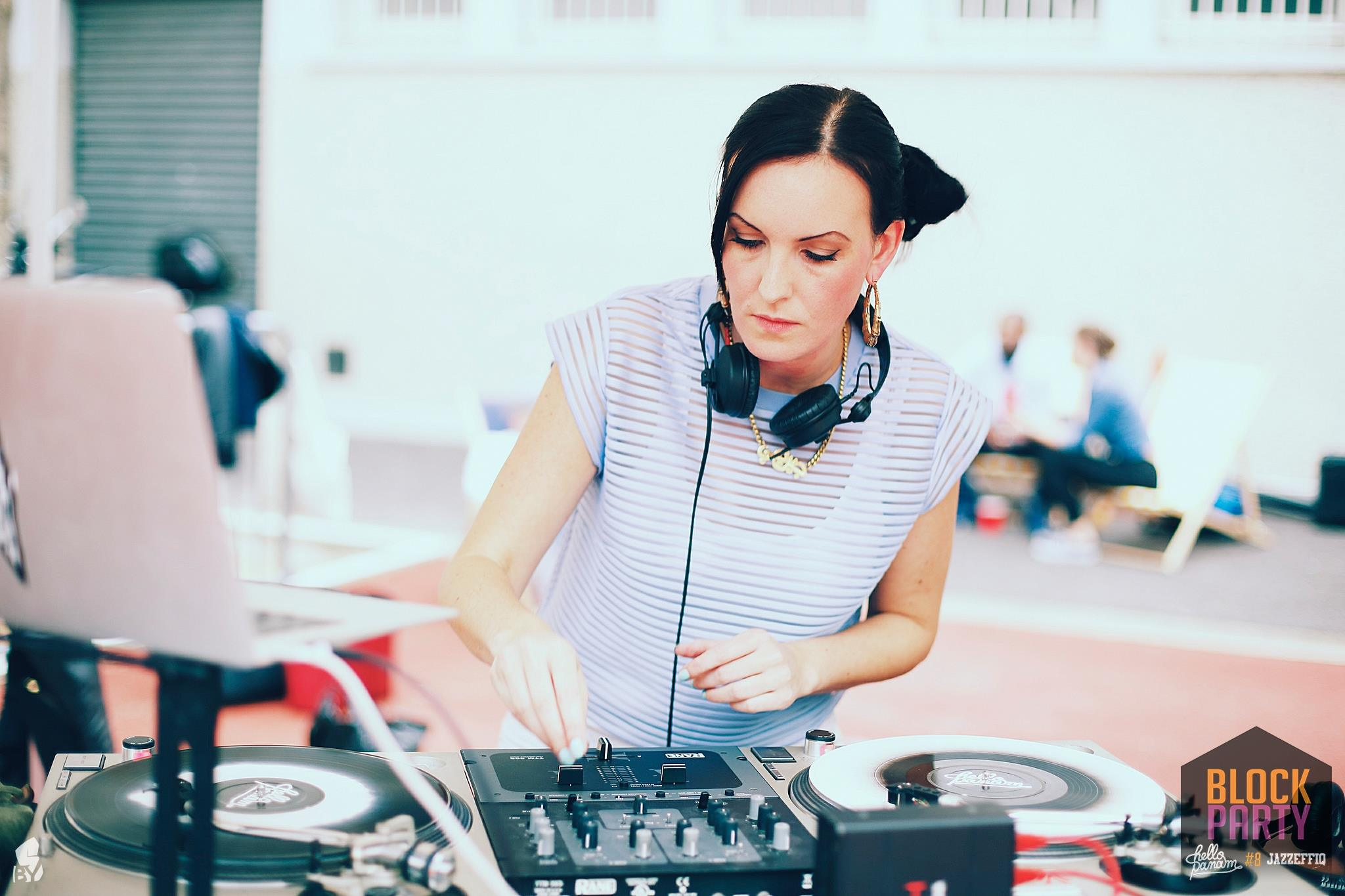 DJ TIA - Tia Turn Tables is a DJ & Sound Curator working with past and future sounds - describing her mixes as