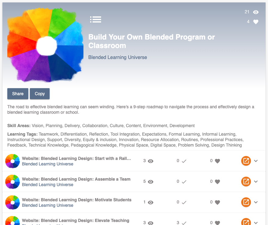 Build Your Own Blended Program or Classroom