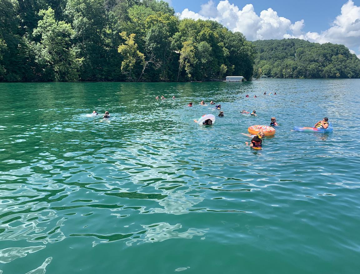 Youth Lake day