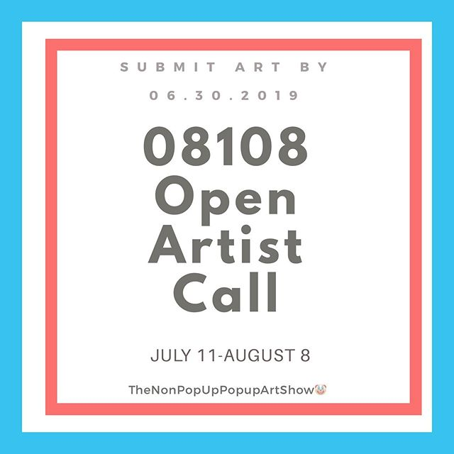 Keeping the timing concise & quick so you can't overthink or second guess yourself 😉 If you live in the #08108 & you're an artist ... we want to show your work in July.  If you're not an artist & know one- share this 👌🏼 ... We've met so many talented people here in Collingswood this past month & decided to do a nonpopup pop-up art show in the gallery. ... .. Send all inquiries &/or submit your artwork & bio to:  mkapothecarygallery@gmail.com. Last day for submissions is 6/30/19. No application fee. ✌🏼❤️😊🤩👌🏼🤡🎨 #opencall #artists #collingswood #southjersey #collingswoodart #mkapothecary #mkapothecarygallery