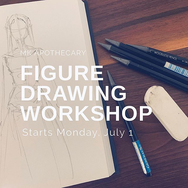 Live model figure drawing workshop at the gallery 🤩 Every Monday starting July 1, 6-9pm. . . Same deal ... come as you are. BYOM. $10 a person. Sign up online coming soon. . . We're just here to sketch, paint, draw & unwind. Our model is willing to put on all the outfits @krisgo123 can come up with. Can't wait! 👩🎤👨🏼🎤👨🏻🍳👩🏼🌾👻🤖✌🏼❤️✨ . . #sketch #sketchclub #art #artist #phillyart #collingswood