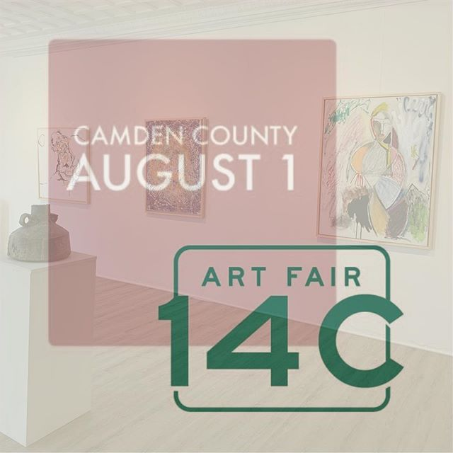 Save the date! August 1, 6-7pm. We are part of the @artfair14c Road Trip! The team from Art Fair 14C will be at the gallery for a Q&A - open to the public including all artists & art galleries in Camden County. . . We are thrilled to host the Q&A in #Collingswood. What's so great about it is that #NJartists will get a broader reach of collectors & buyers. The art fair will be in Feb 2020 in Jersey City, NJ. . On a personal level- this means a lot to both of us because we lived in #JerseyCity in the beginnings of our art & design careers in #NYC. Kristine especially has deep ties to the community there having grown up in north Jersey. She is (we are) still part of the #art & #Filipino communities in Jersey City. So this is really special 💕. . Find out more about Art Fair 14C on their website & at the Q&A session.  https://www.artfair14c.com/about/