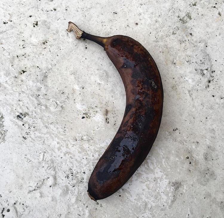 Banana, Someones Rubbish, Brighton and Hove, 2016.