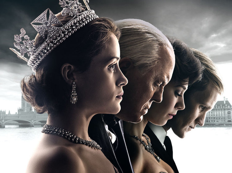 "NETFLIX'S ""THE CROWN."""