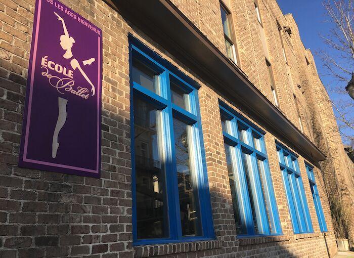 VISTA BECOMES A BALLET STUDIO.