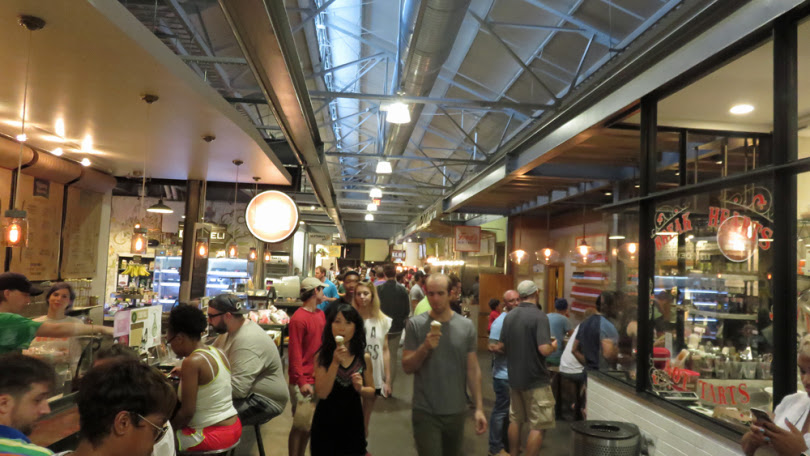 Krog Street Market completed & open to the public.