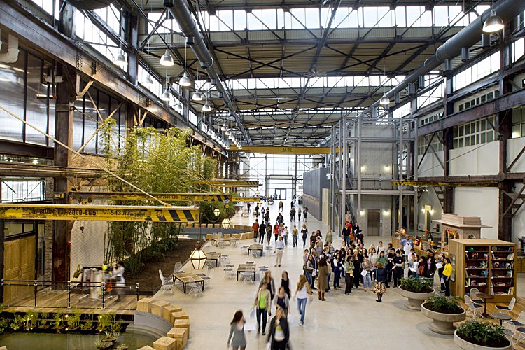 In 2004, the Navy Yard commissioned Robert A.M. Stern Architects to create the master plan.