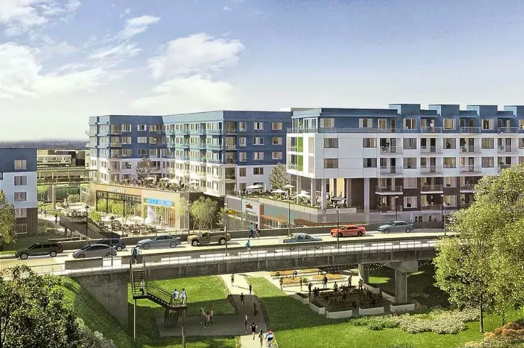 A rendering of Edge, one of the Atlanta BeltLine's latest developments. Projected to open in the spring of 2019.