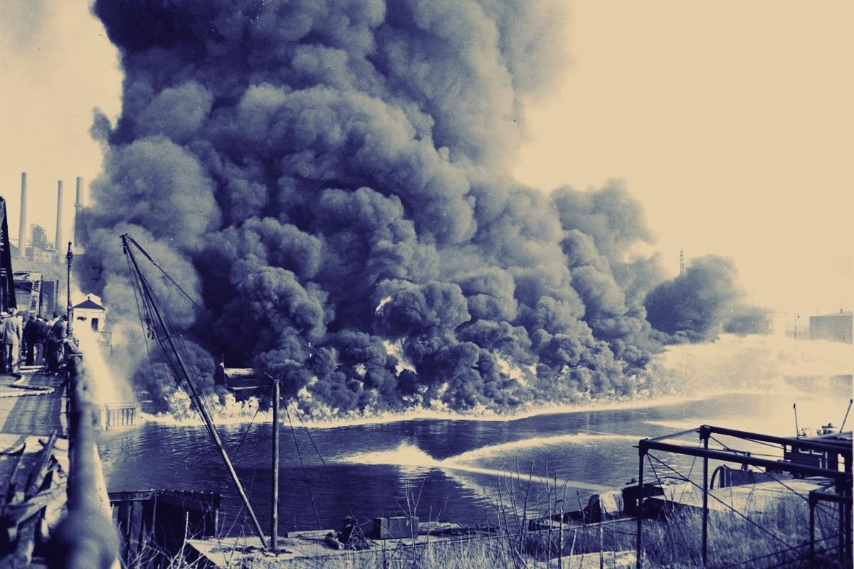 Cayuhoga River Fire 1969