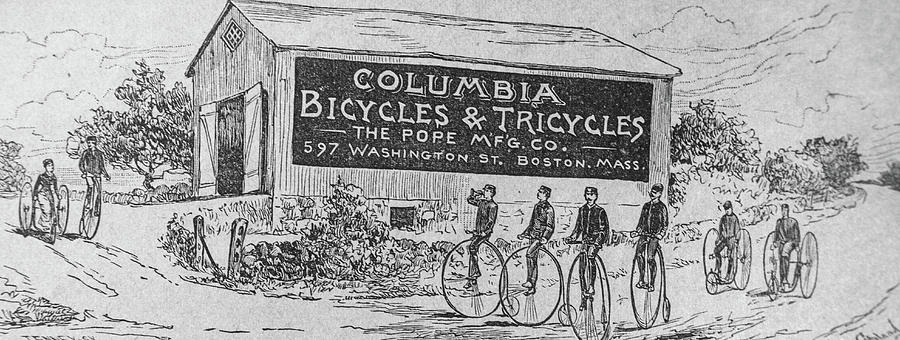 """Bicycles in every incarnation, remaking each of them all of the time."" - from BA 42-300"