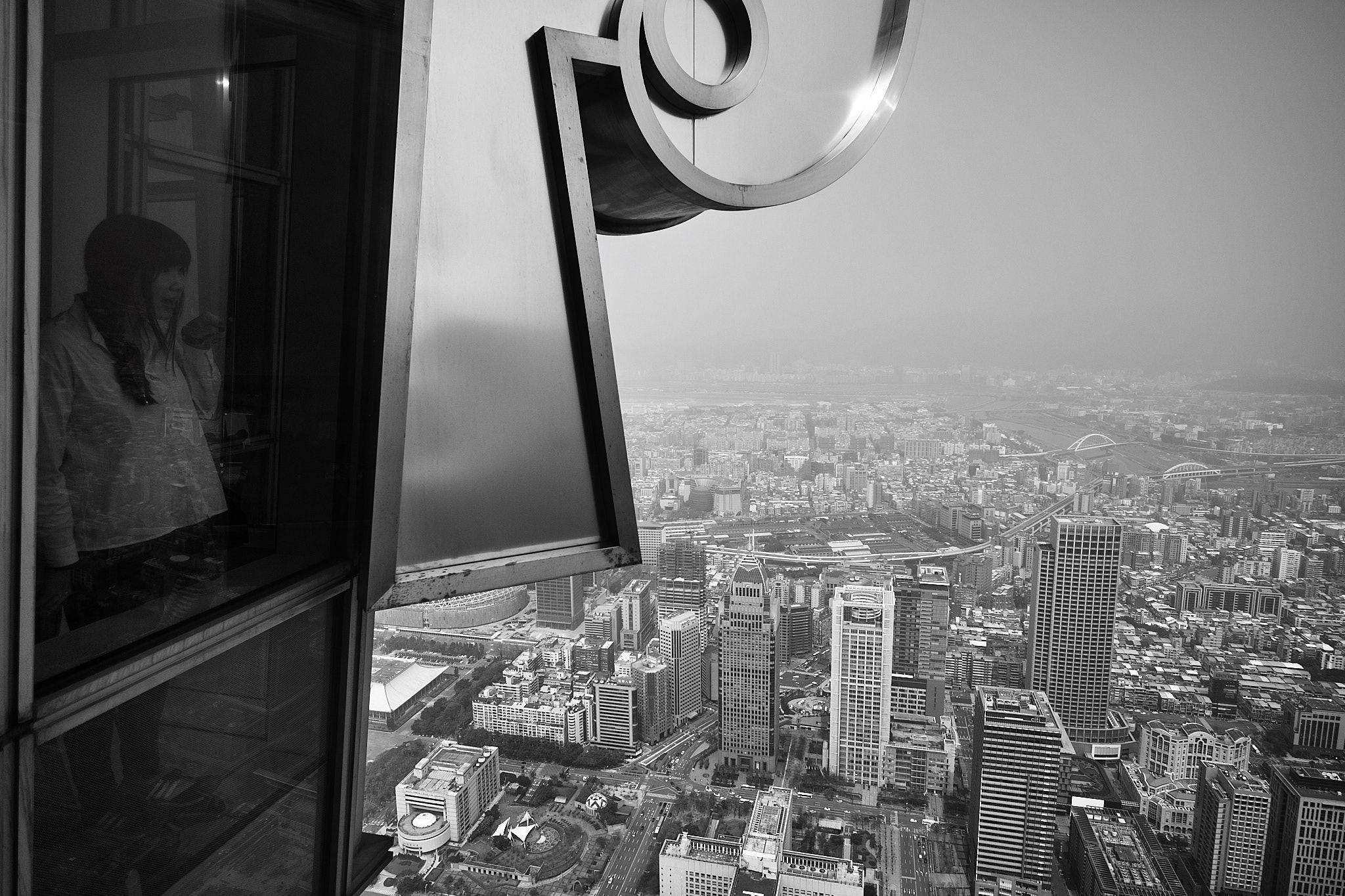 On top of Taipei 101. Fujifilm XT2 - XF10-24mmF4