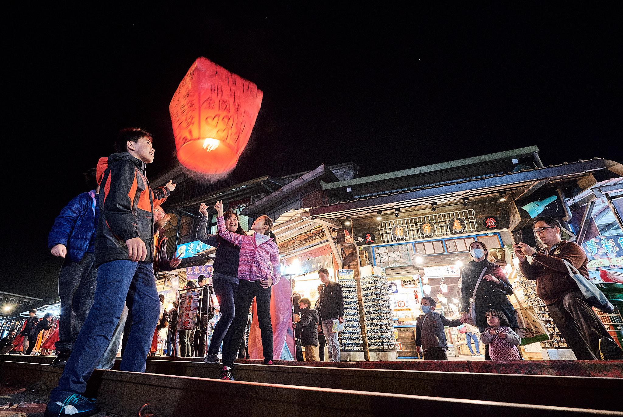 Red Lantern Festival. Fujifilm XT2 - XF10-24mmF4