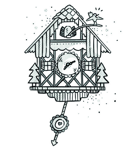 Austrian Cuckoo Clock