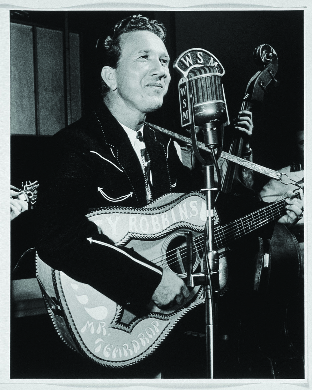 Marty Robbins performs on WSM's Friday Nite Frolics.jpg