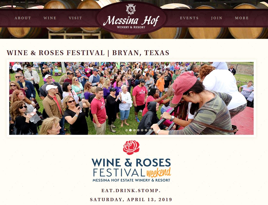 Messina Hof 35th Wine & Roses Festival