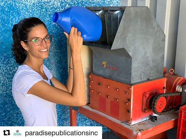 "Check us out in the upcoming edition of @paradisepublicationsinc 📰 ・・・ 💡""@limpirecycling has grown rapidly. We had to change location because different creative are popping up and we are creating a lot of awareness""⁣⁣ ⁣⁣ 💡@debrahnijdam and @micthelllammering both studied Industrial Product design in the Netherlands. This study focuses on masa production of plastic products, product design, techniques to build products, different characteristics of plastic types and most importantly the disadvantage of plastic types.⁣⁣ ⁣⁣ 💡Read more about the journey behind the limpi brand in the next edition of Made In Curaçao ⁣ ⁣ #paradisepublications #madeincuraçao #limpi"