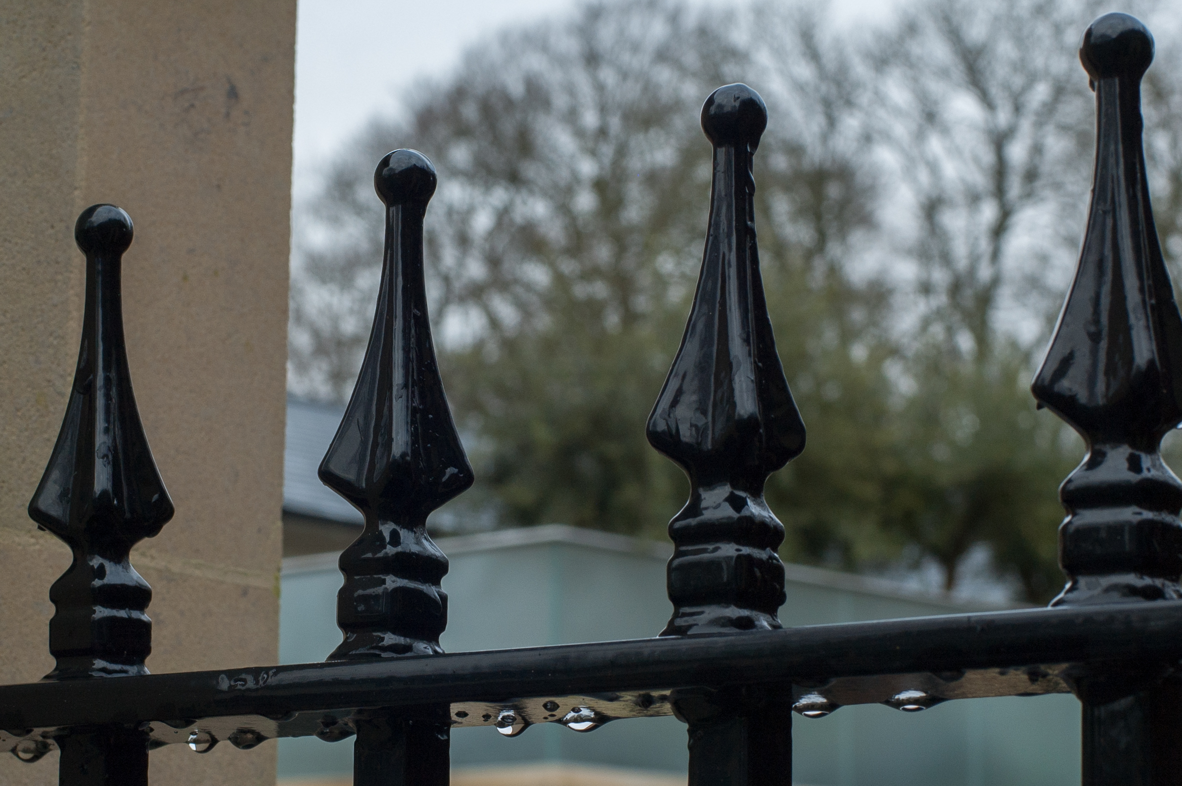 Posts, railings and infill panels - Softwood or Hardwood, Metal – either galvanised or powder coated to any RAL colour.