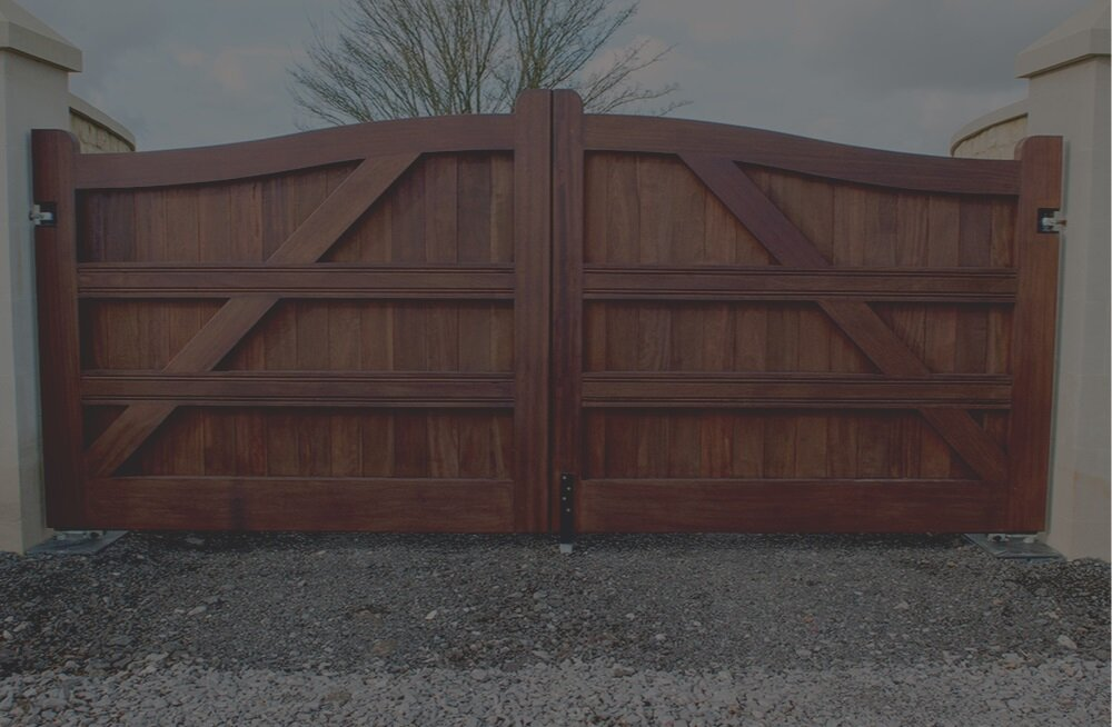 Wooden Gates -