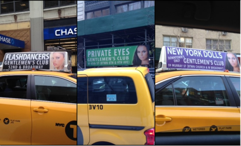 Yellow Cabs and Strip Clubs:New York Sells Inequality - THE HUFFINGTON POST