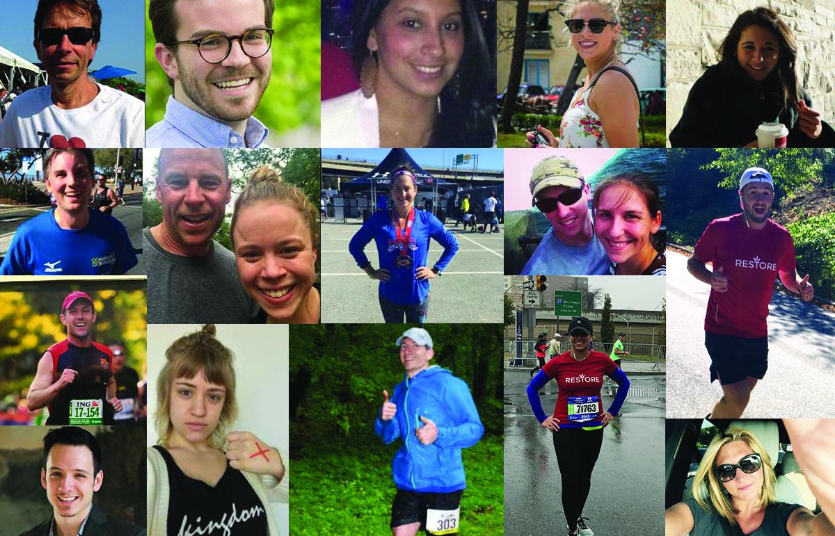 Image: 2017 TCS New York City Marathon Restore Team