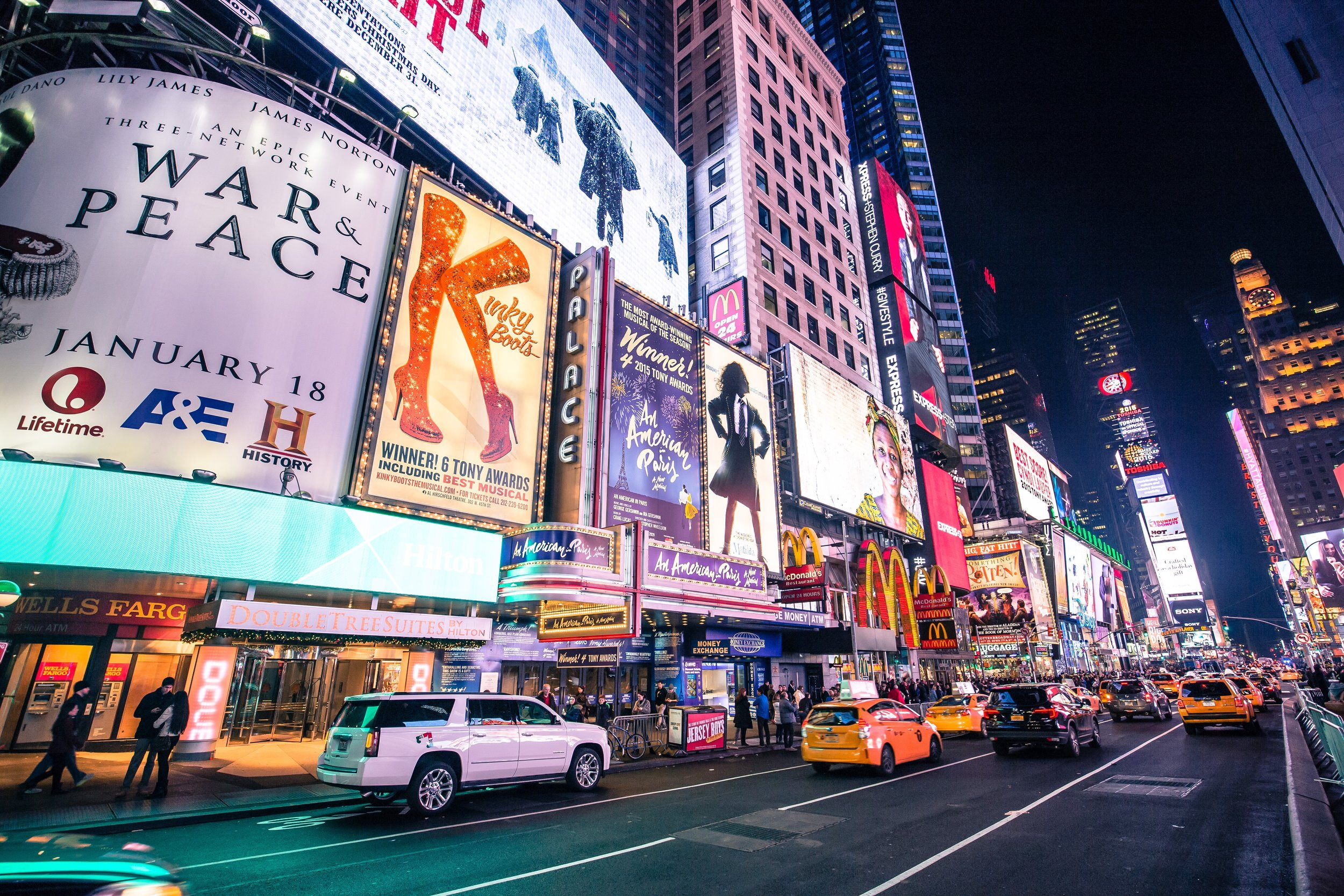 LIVE AUCTION ITEM - All-Access Broadway Package