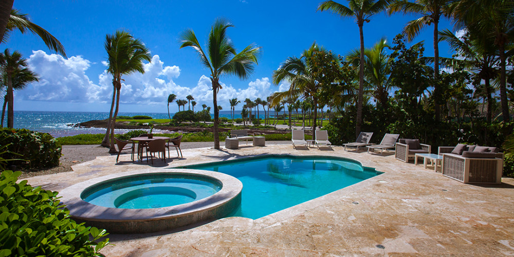 LIVE AUCTION ITEM - 5 Days, 4 Nights at Luxury Ocean Front Villa in Cap Cana, Dominican Republic