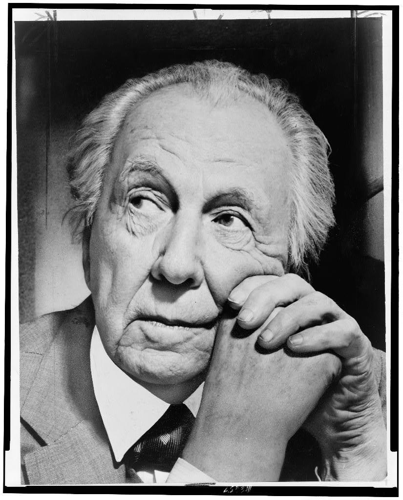 Frank Lloyd Wright | 1954 | Photo: Library of Congress