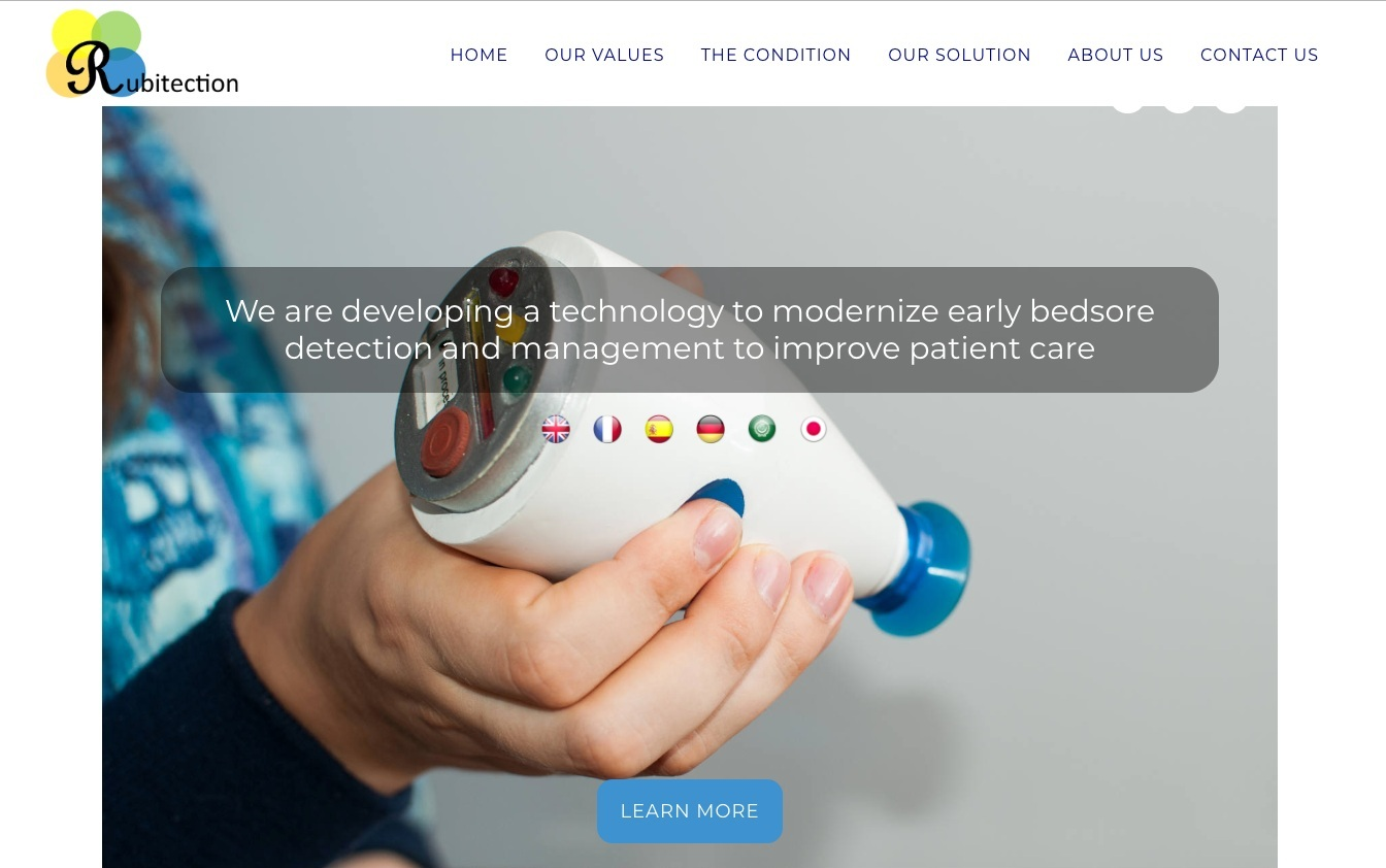 Rubitection - Founded by Sanna Gaspard, Rubitection is a medical device start-up focused on modernizing patient care and bringing awareness to the condition of pressure ulcers also known as bedsores.Learn More