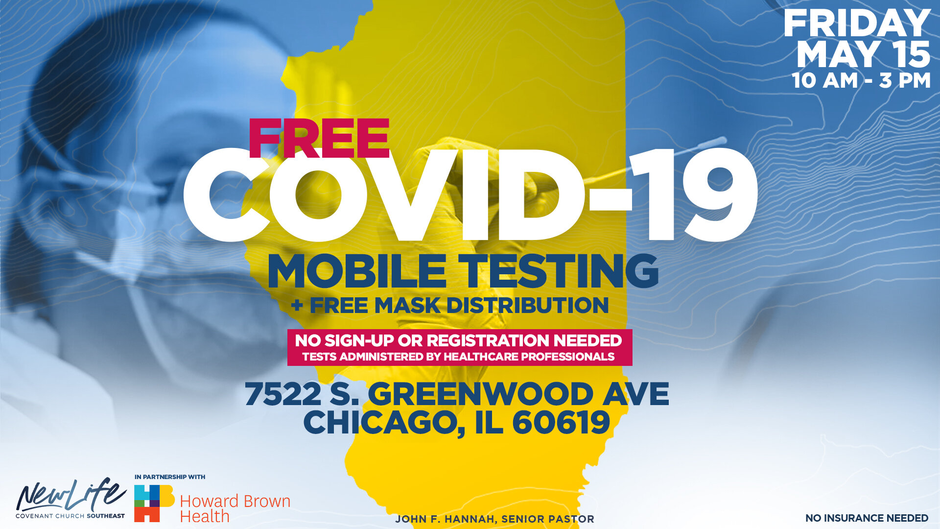 Free Covid 19 Testing Mask Distribution New Life Covenant Southeast