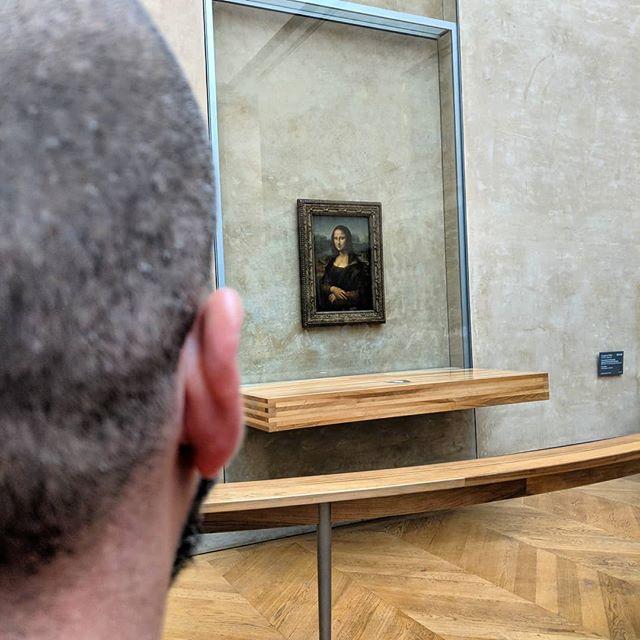 Mona...an 👂- shot away . #oui